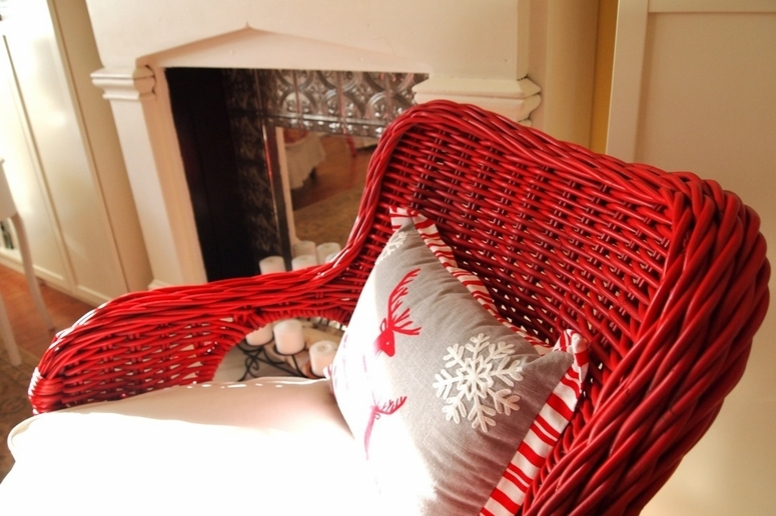 red wicker furniture by wicker paradise